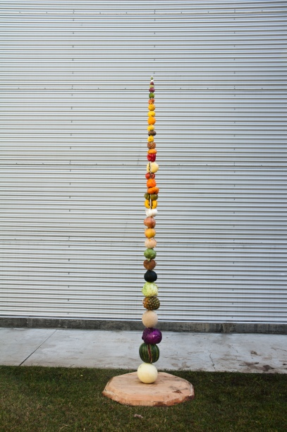 fruits on a spike